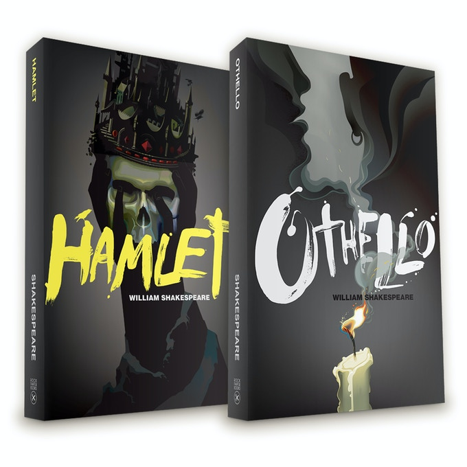 The first 4 titles from our Shakespeare set are also available. Hamlet, Othello, Macbeth, Romeo and Juliet