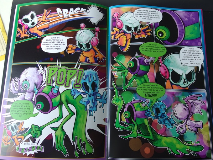 Example pages from issue 1