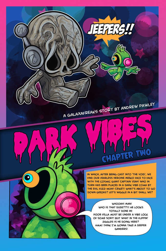 Page From Dark Vibes Issue 2