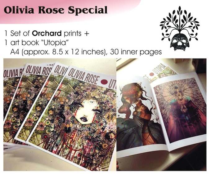 Olivia Rose special, €80 plus postage, already claimed