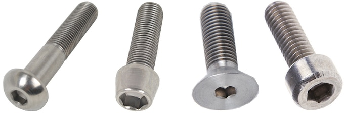 This is a small selection of all bolts that can be secured.