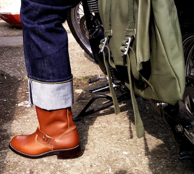 Engineer boot in Acorn