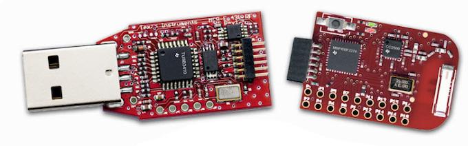 TI's RF2500 low power radio board