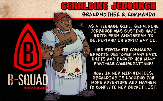 Click to learn more about Geraldine!