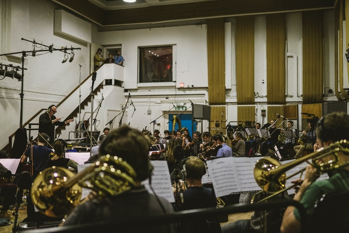 'The Chamber Orchestra of London' playing Frontier: Elite 2