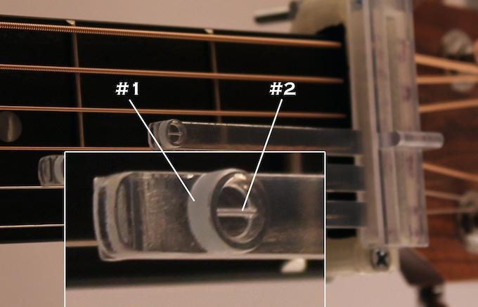 #1 - Callus Builder Button    #2 - String Simulator
