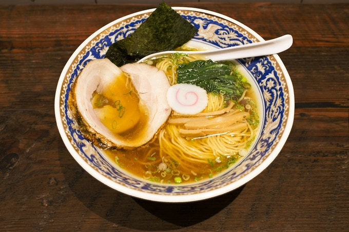 Torigara Ramen, Nakamura, One of my favorite ramen shop in NYC (Photograph by @Foodbunker)