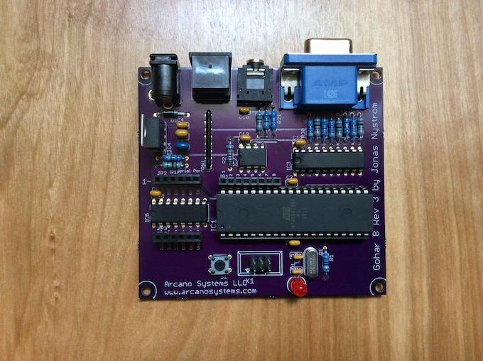 Gem-8 PCB