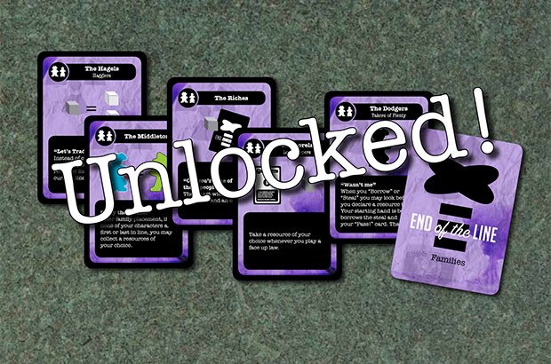 We did it! The 3rd Set of Families has been unlocked.