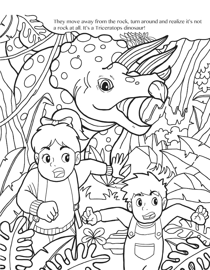 The Greatest Adventure Premium Adult Coloring Book by