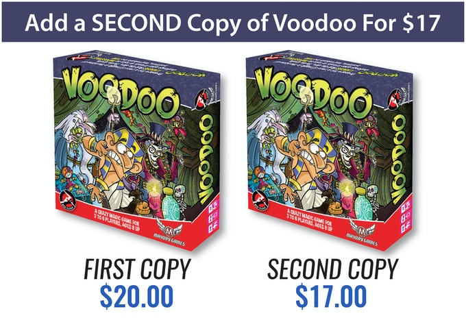 Voodoo: The Magical Party Game of Curses for 3-6 Players by Seth