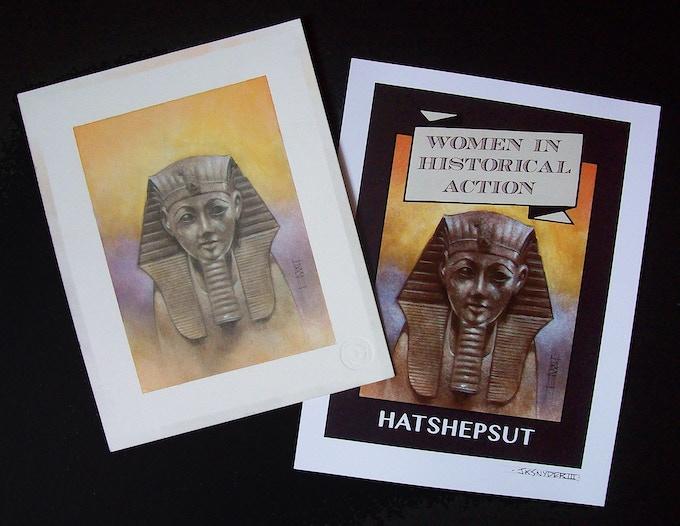 Original art & print you'll receive!