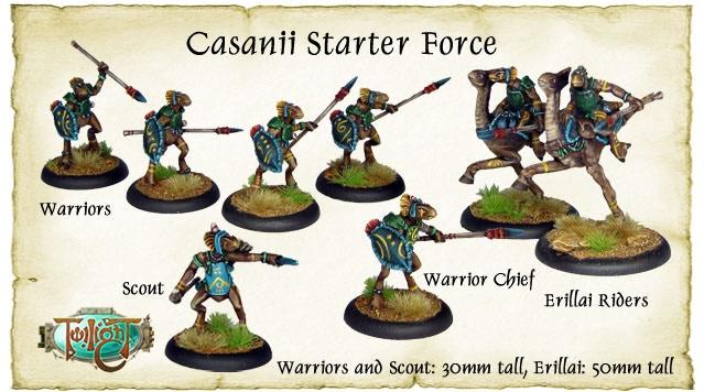 The Casanii Starter Force