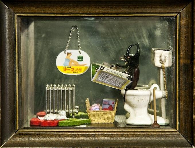 A custom made Cosel bug diorama by Daisy Tainton!!