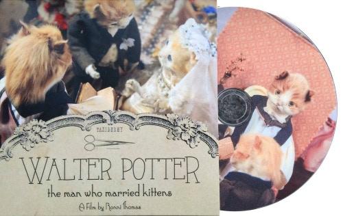 Lovingly pressed Walter Potter DVD!