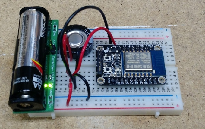 Wi-Fi with a capacitor