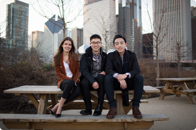 Meet the founders: Gabby, Ben, and Kevin
