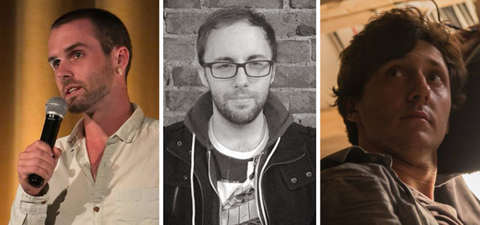 Left To Right: Robert Bryce Milburn, Nicholas Begnaud, & Eric Dickinson