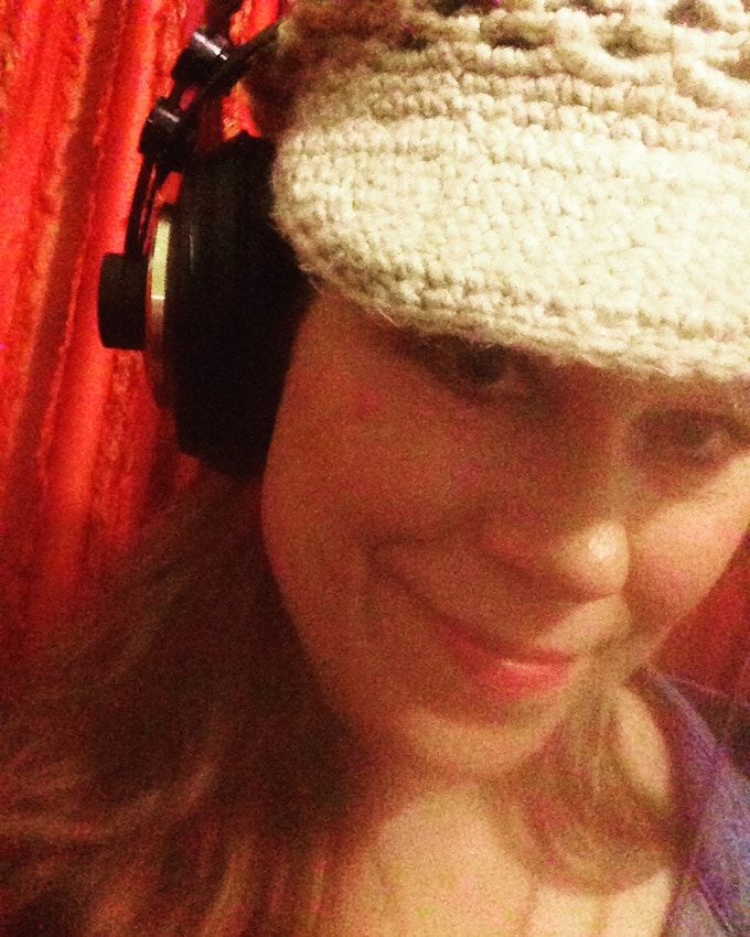 Laying vocal trax