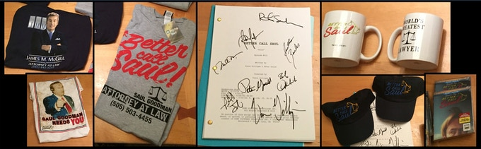 """Some of our """"Better Call Saul"""" goodies"""