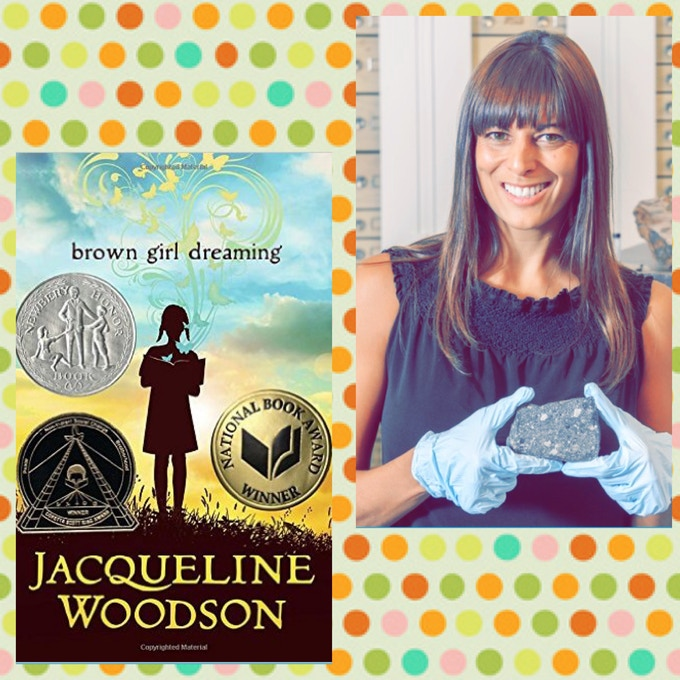 Woodson's Brown Girl Dreaming and Dr. Wadwha with a meteorite