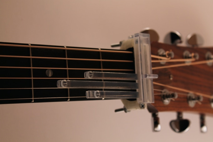 Slide the Chord Insert all the way into the Top Plate