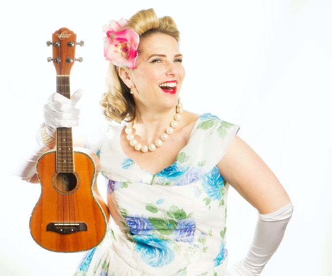 Everyone loves a ukulele! - Image Barrie Downie Photography