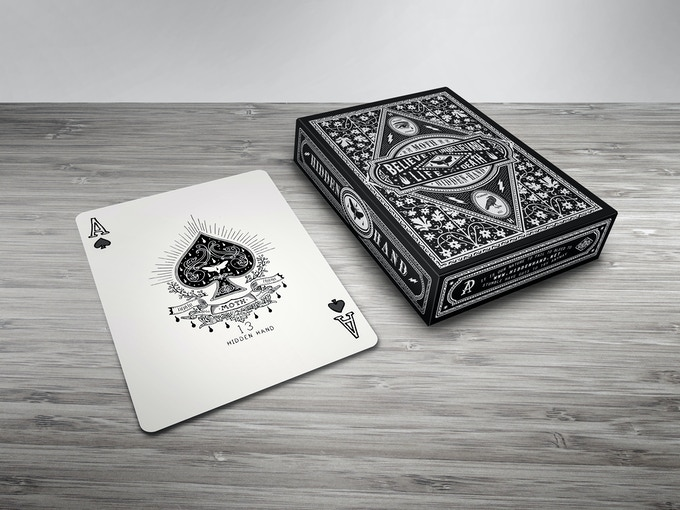 Crystal Radio Vinyl Wooden Record Playing Cards By