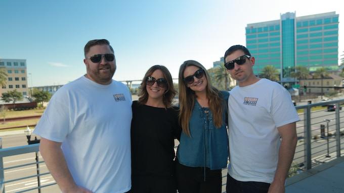 Founders-Josh and wife Natalie, Cody and wife Stephanie