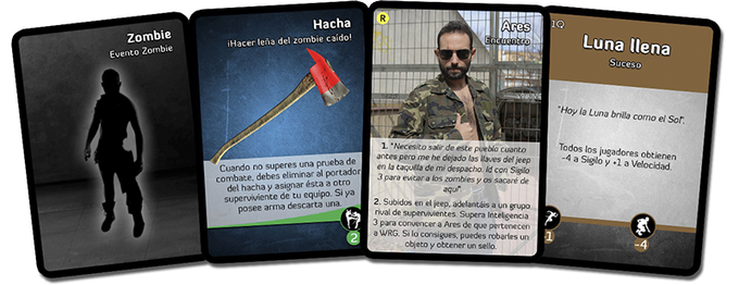 Llega 'AARGH!', el juego de cartas basado en Survival Zombie