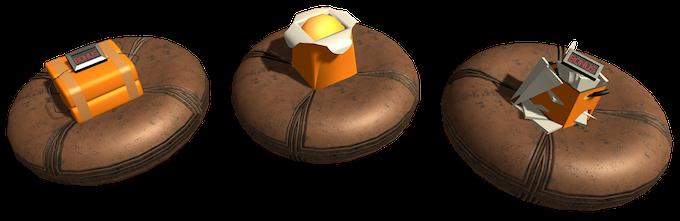 Proximity bomb, Fireball and Wall Breaker