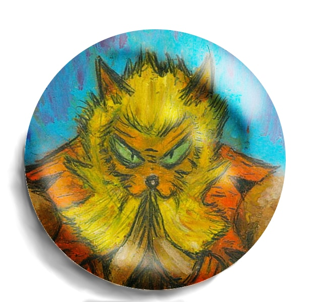 $10 backers get a King Liger button!