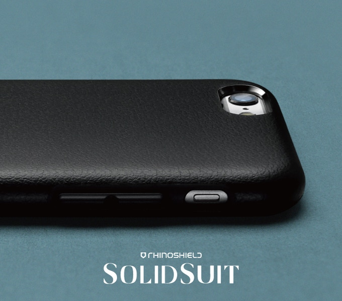 RhinoShield SolidSuit Leather Case