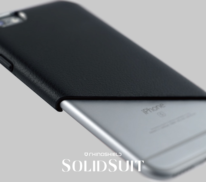 best website c64d7 1b007 SolidSuit: Leather Finish Impact Protection Case for iPhone by ...