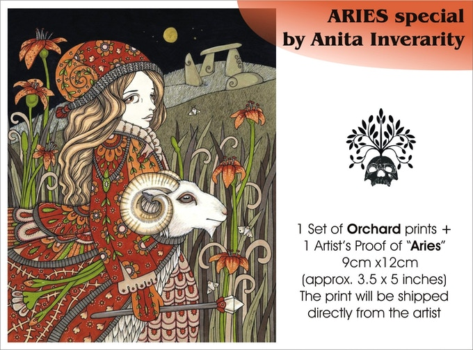 Aries special, by Anita Inverarity, €37 plus postage, all gone now