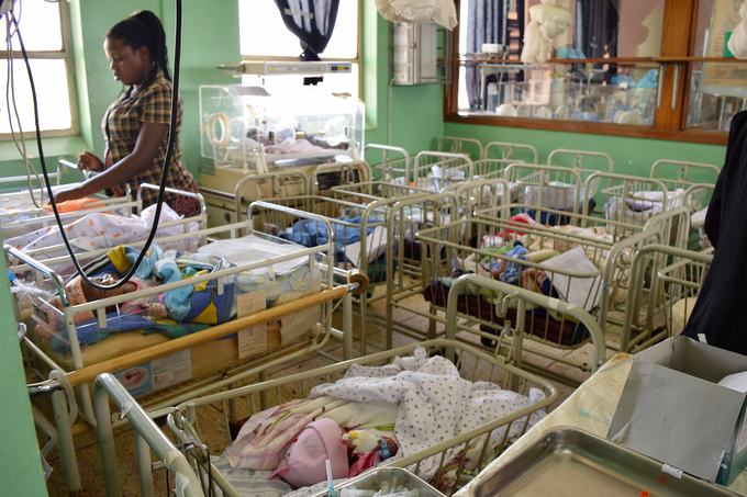 Mulago Hospital Special Care Baby Unit in August 2015