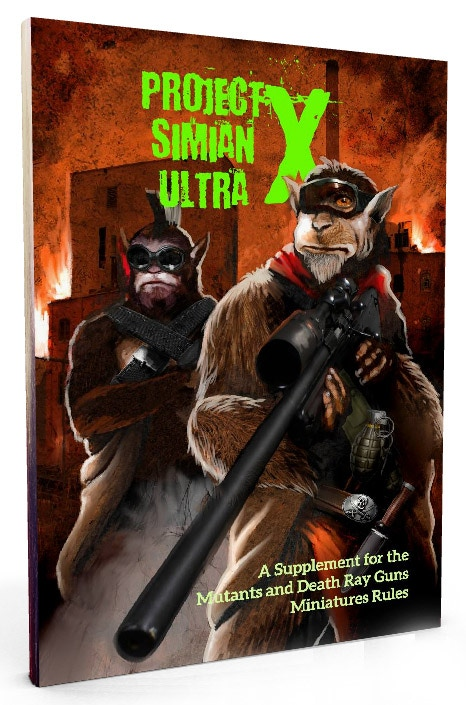 Simian Ultra X campaign book for MDRG