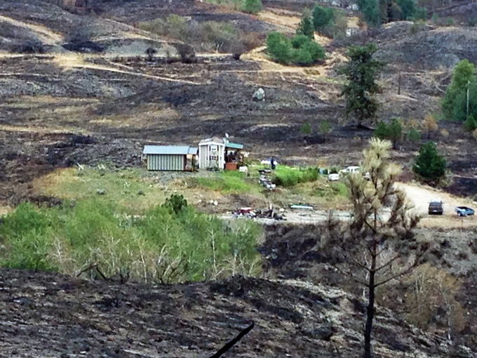 After the Okanogan Complex Fires