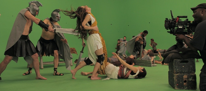 """Behind The Scenes Image from """"The Warriors Maccabee"""""""