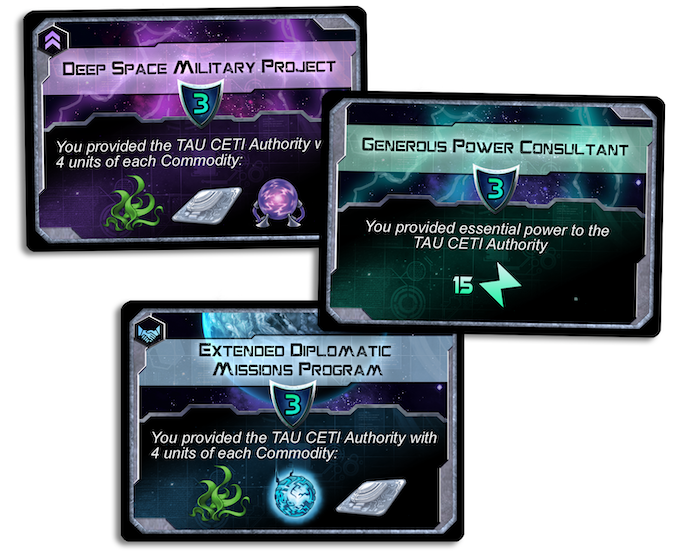Objective Cards!