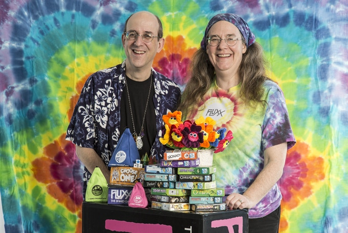 Andy & Kristin Looney, Founders of Looney Labs