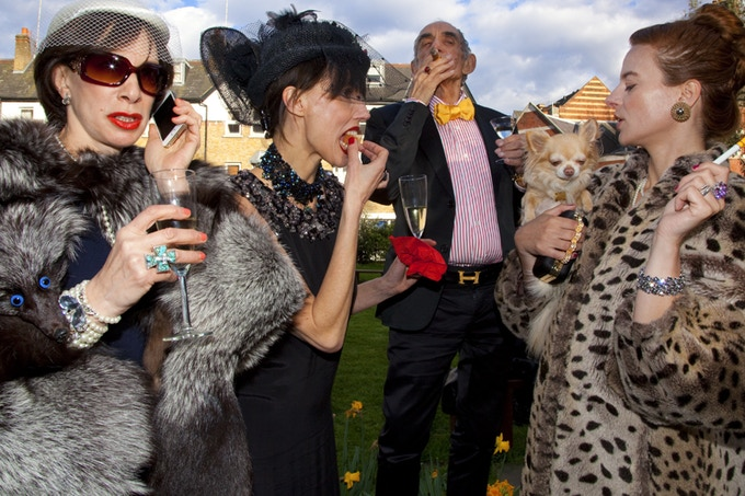 A tribute to Martin PARR, Luxury, 2007
