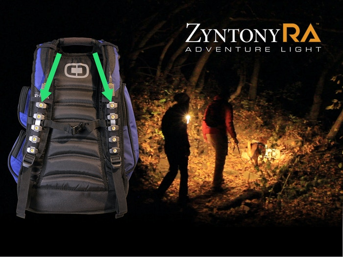 SUPER-BRIGHT, FLEXIBLE light that attaches virtually anywhere. Keep high adventure alive after dark. SEE and BE SEEN!