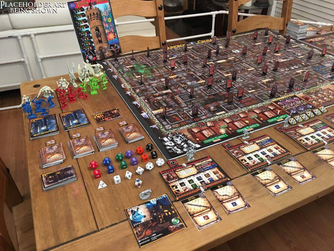 Game contents for base edition of Dungeon Crusade.