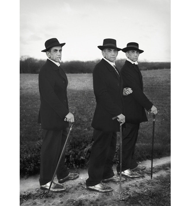 A tribute to August Sander, Young Farmers, 1914