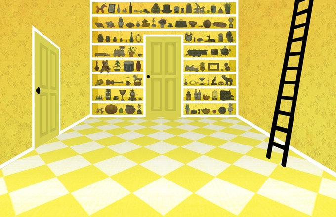 Concept Art of the Yellow Room