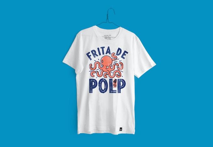 Camiseta 145gr Hombre. 100% algodón.