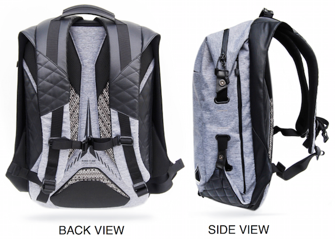The Rugged Fashionable Champaign Rucksack Yous Tin Select To The Office!