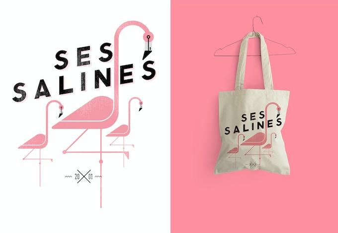 """Reimpresión del diseño """"Ses Salines"""" temporada 2014-15."""