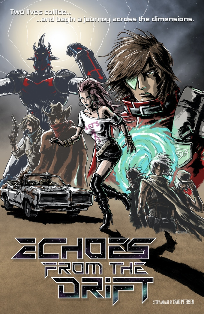 Echoes from the Drift - Promo poster